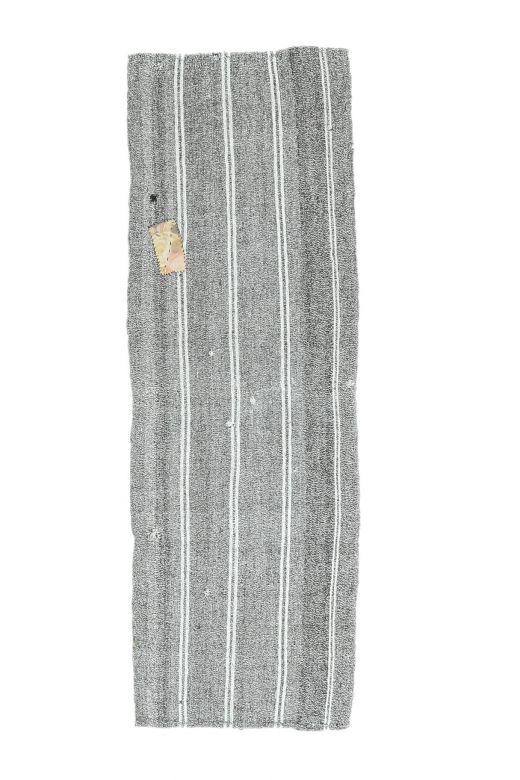 2x7 Vintage Kilim Striped Runner
