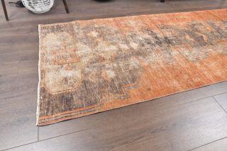 Vintage Orange Runner Rug - Thumbnail