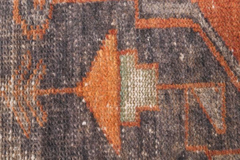 Vintage Orange Runner Rug