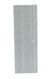 3x11 Vintage Kilim Rug Gray Runner - Thumbnail