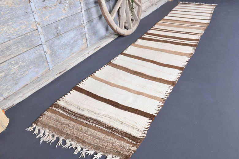 3x14 Wool Vintage Runner Rug