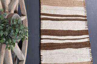 3x14 Wool Vintage Runner Rug - Thumbnail