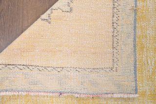3x9 Wool Vintage Runner Rug - Thumbnail