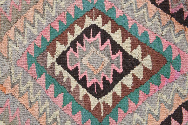 5x11 Wool Vintage Wide Runner Rug
