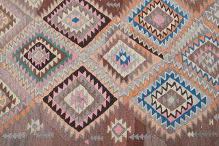 5x11 Wool Vintage Wide Runner Rug - Thumbnail