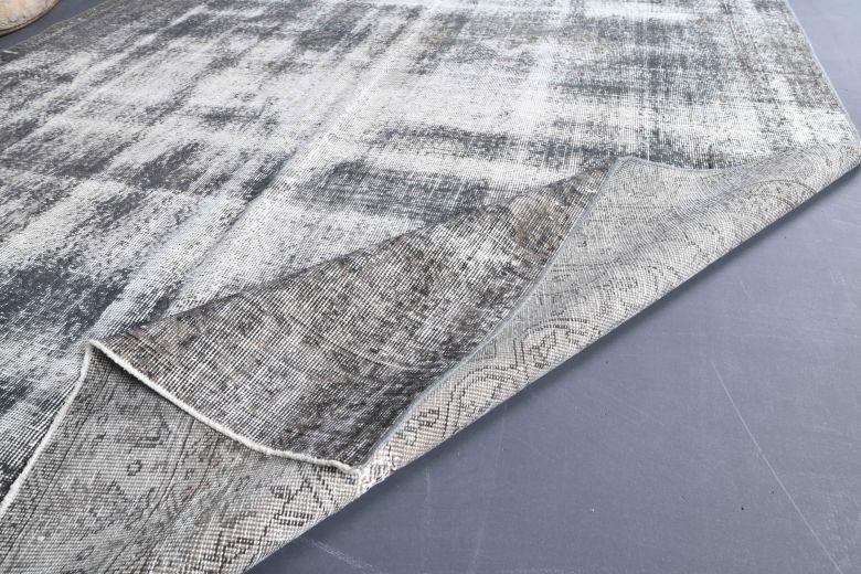 Vintage Gray Large Area Rug