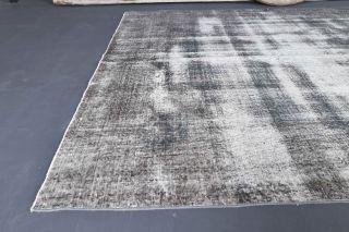 Vintage Gray Large Area Rug - Thumbnail