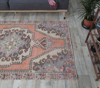 Alapinar - Persian Vintage Rug - Thumbnail