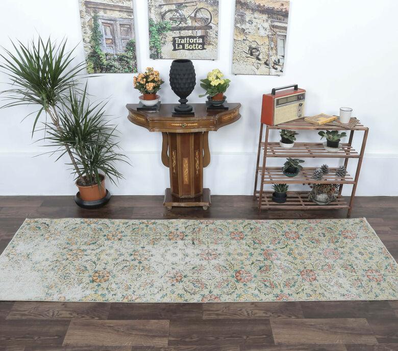 Azamate - Floral Sepia Runner