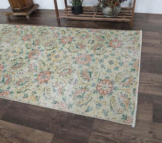Azamate - Floral Sepia Runner - Thumbnail