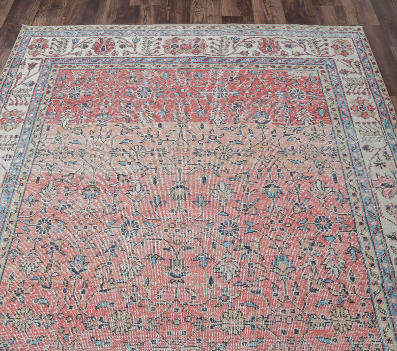 Esperanza - Faded Pink Turkish Rug