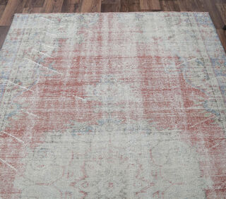 Estelle - Faded Red Oriental Area Rug - Thumbnail