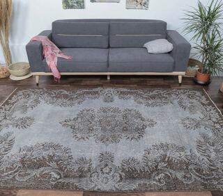 Estrella - Gray Oriental Rug - Thumbnail