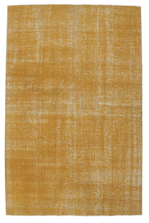 Eudora - Orange Overdyed Vintage Rug