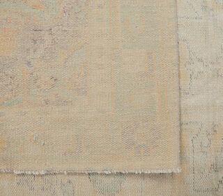 Ferhan - Faded Beige Blush Boho Vintage Rug - Thumbnail