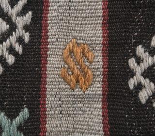 Gumush - Traditional Ethnic Flatweave Rug - Thumbnail