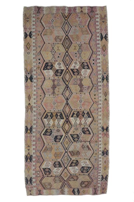 Gusel - Authentic Kilim Flatweave Rug
