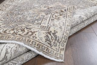 Oriental Handmade Vintage Rug - Thumbnail