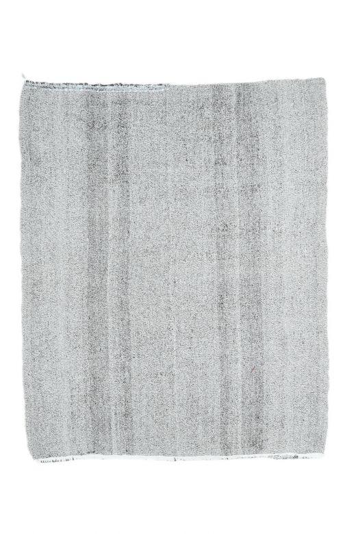 Havvs - Gray Vintage Oushak Kilim Rug