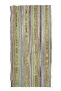 Vintage Multi-Colored Area Rug - Thumbnail