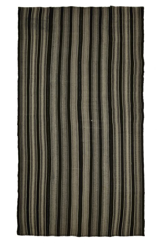 Vintage Oversized Area Kilim Rug